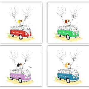 Fingerabdruckbaum Bus, Wedding tree Bus